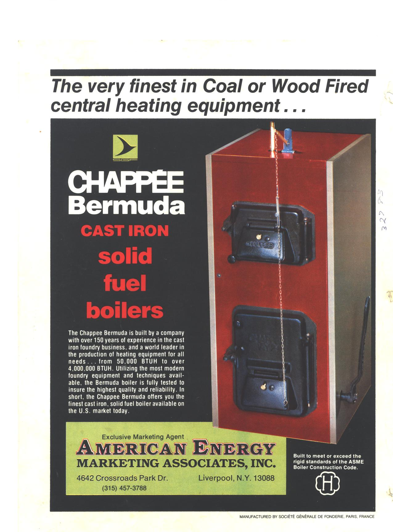 chappee oil burning boiler - View topic :: Total France